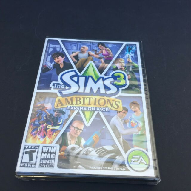 Sims 3 all expansions for mac versions