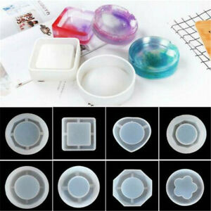 Silicone Ashtray Mold Resin Jewellery Making Mould Casting Epoxy Craft Tools DIY