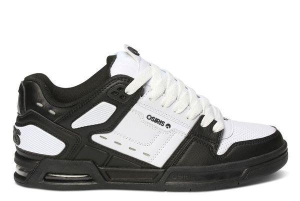 MENS OSIRIS OSIRIS OSIRIS PERIL SKATEBOARDING scarpe NIB nero bianca nero 4117c1