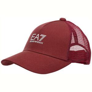 Emporio-Armani-EA7-Cap-herren-2450200p85519275-Baumwolle-verstellbar-ROOIBOS-TEA