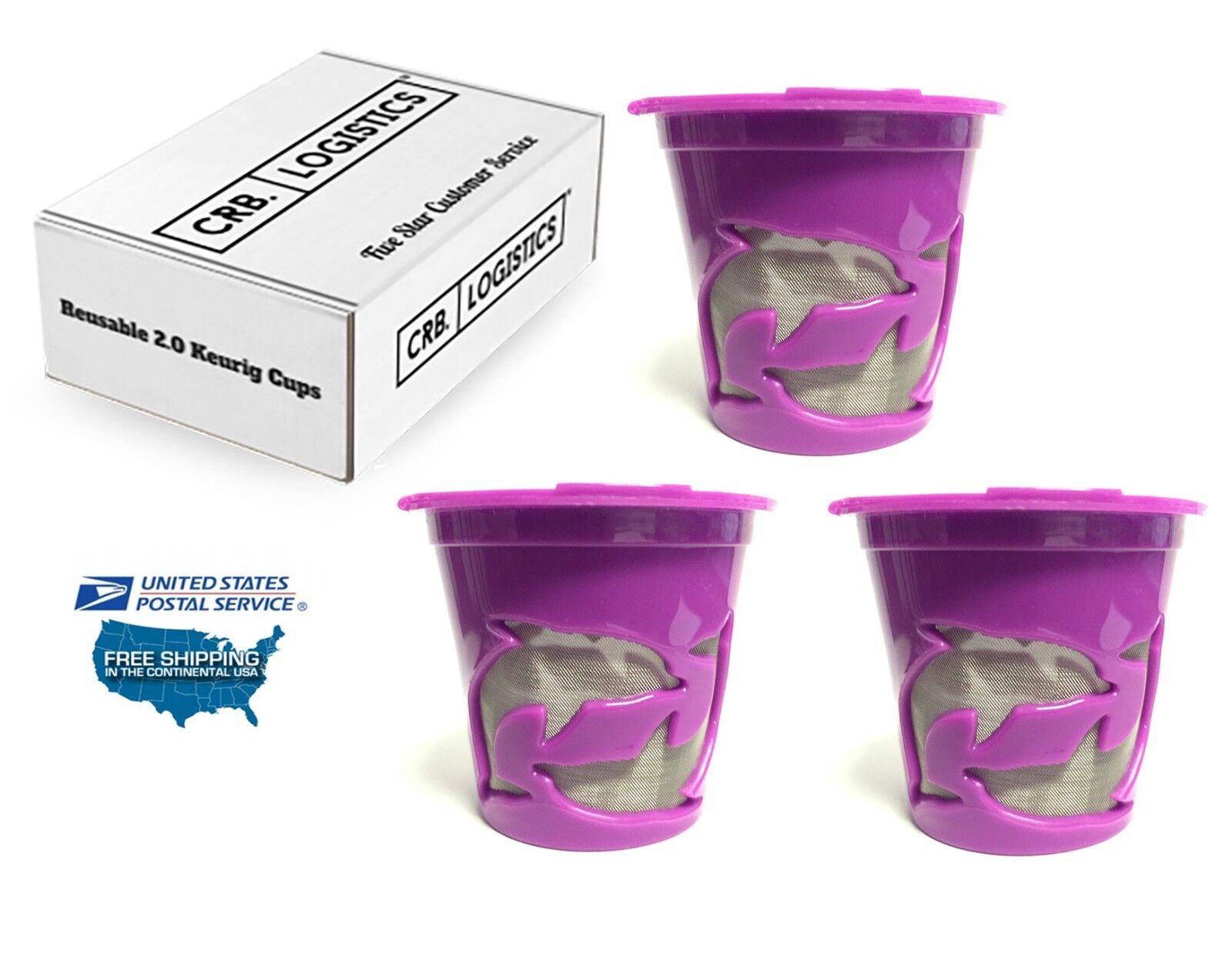 3 Reusable K cups