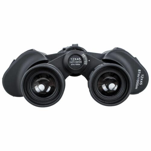 Prismaticos Binoculares 12X45 BOSHILE para caza deporte de vigilancia 1000yds