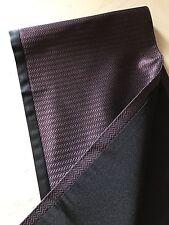 New $355 Ermenegildo Zegna Couture Men's Scarf Dark Red Made In Italy