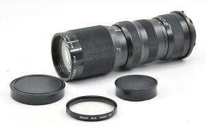 Aubell Auto Zoom 85-210mm f4.5 Objektiv für Minolta MD Mount!