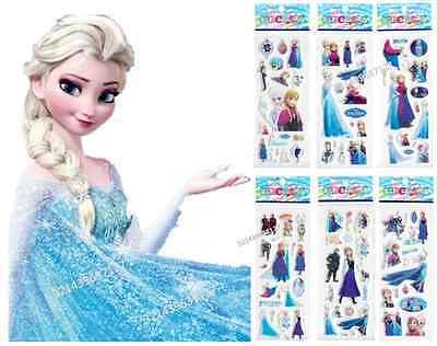 Frozen sticker Party loot bag filler favor Supply school reward Scrapbook Elsa