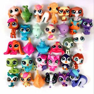 Lot-20-Original-Hasbro-Littlest-Pet-Shop-LPS-Dog-Cat-Goat-Owl-Animal-Your-chioce