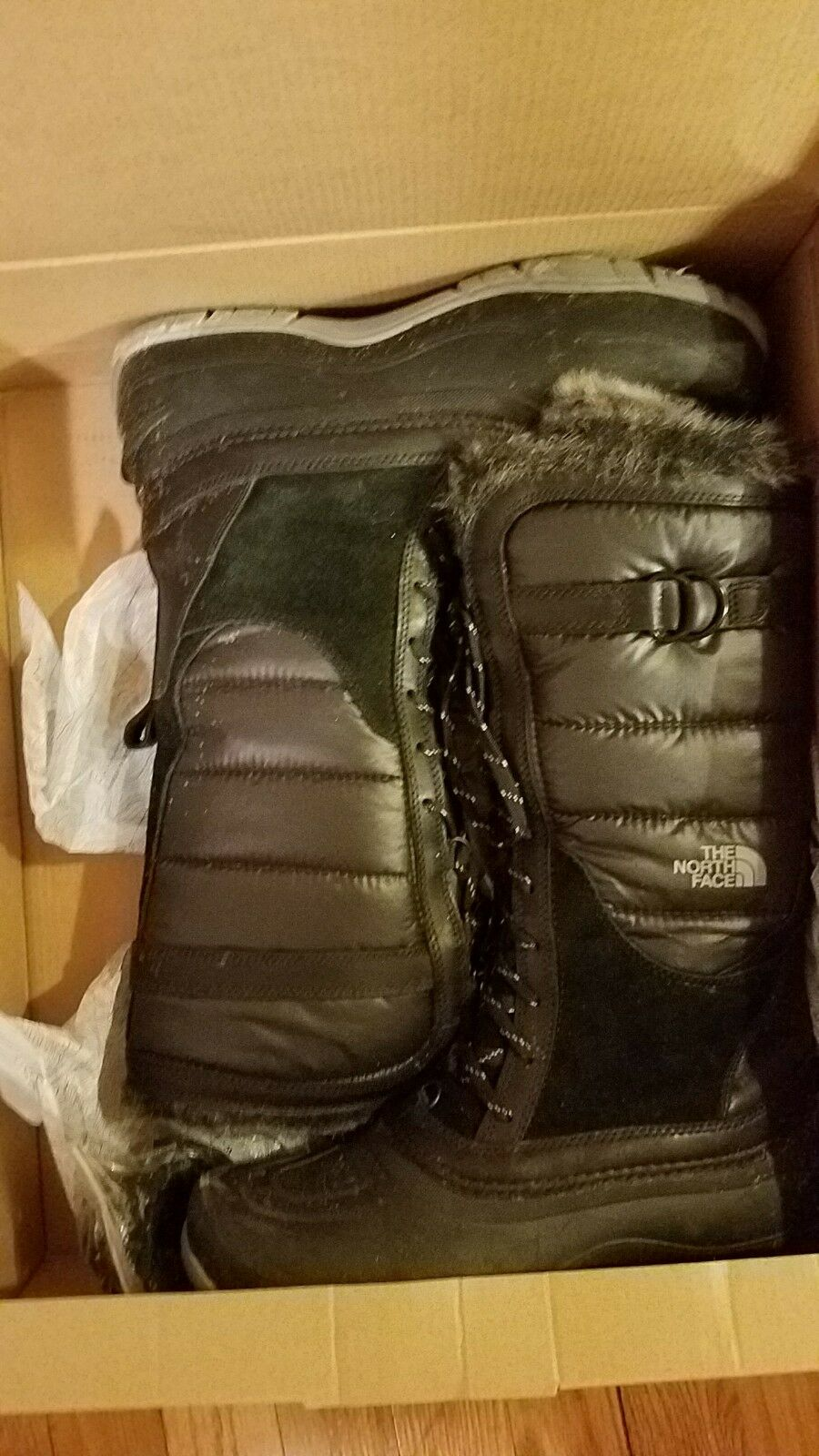 The North Face Shellista Lace winter snow boots 11 M
