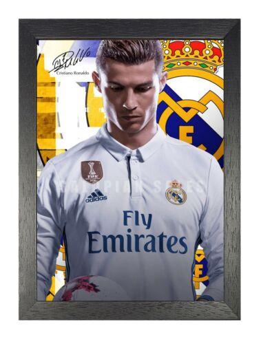 Cristiano Ronaldo 99 Fußball Player Poster Sport Star Foto Motivation Handsome