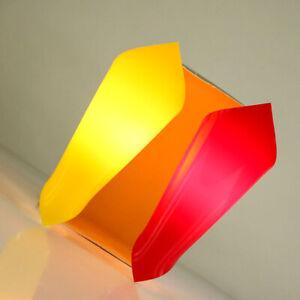 Wand-Eck-Leuchten-Hanns-Hoffmann-Lederer-Kunststoff-Lampen-TopZustand-50er-Jahre