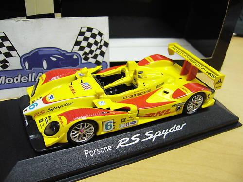 PORSCHE RS Spyder   6 DHL LMP2 LMP 2 RAR Minichamps Porsche 1 43    Marke
