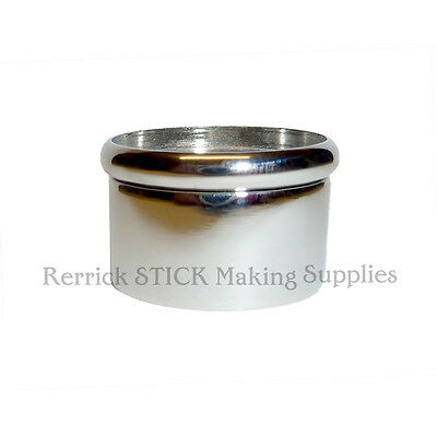 ONE NICKLE SNAP TOP COLLAR FOR WALKING STICKS 27mm