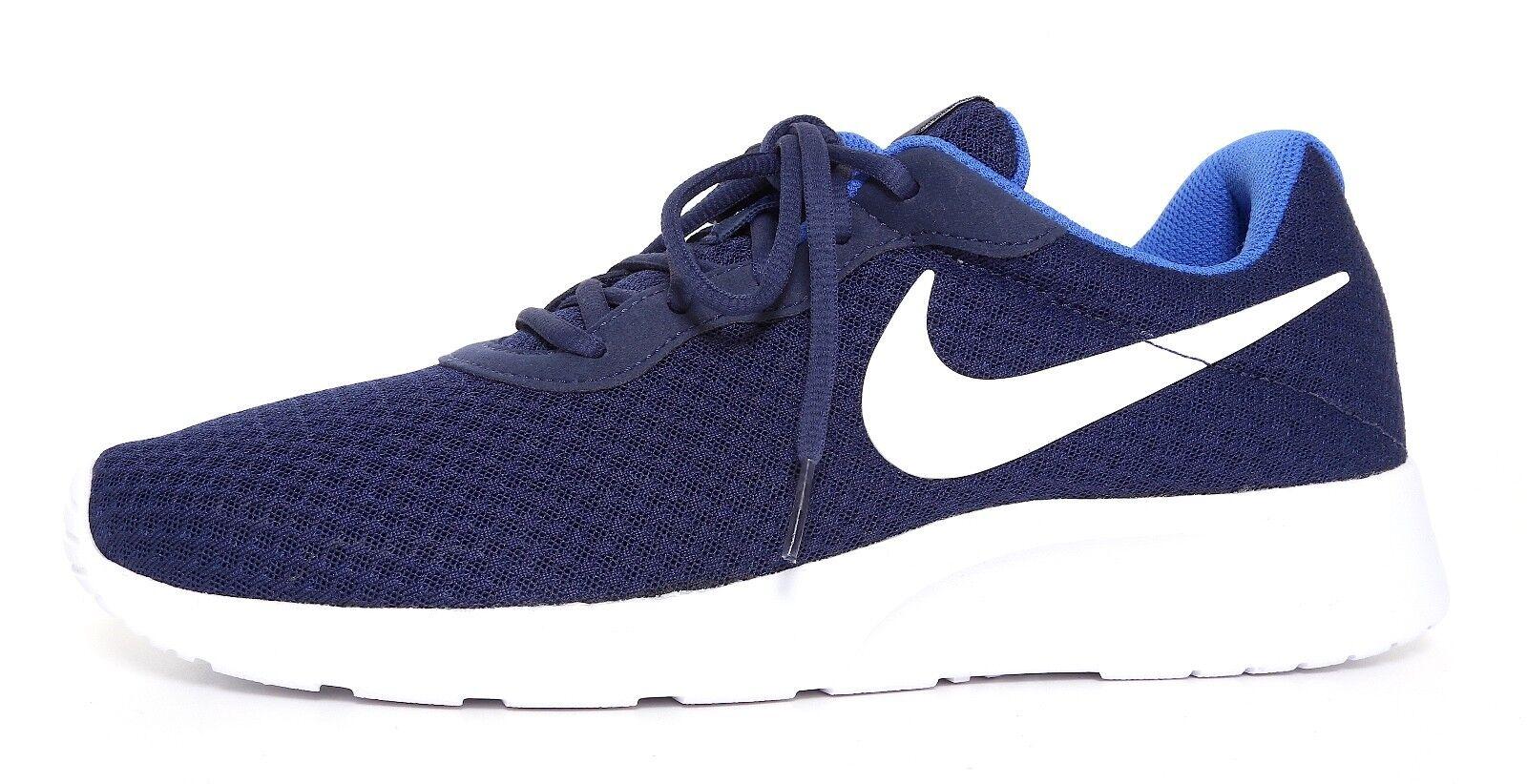 Nike tanjun scarpe blu navy uomini sz 11 6607 mezzanotte