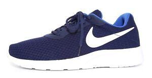 Nike Tanjun Sneakers Midnight Navy Blue Men Sz 11 6607
