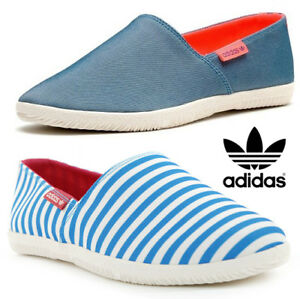 0097c6b3ed8 Details about New Adidas Adidrill Canvas Espadrilles Plimsolls Slip On  Shoes Trainers