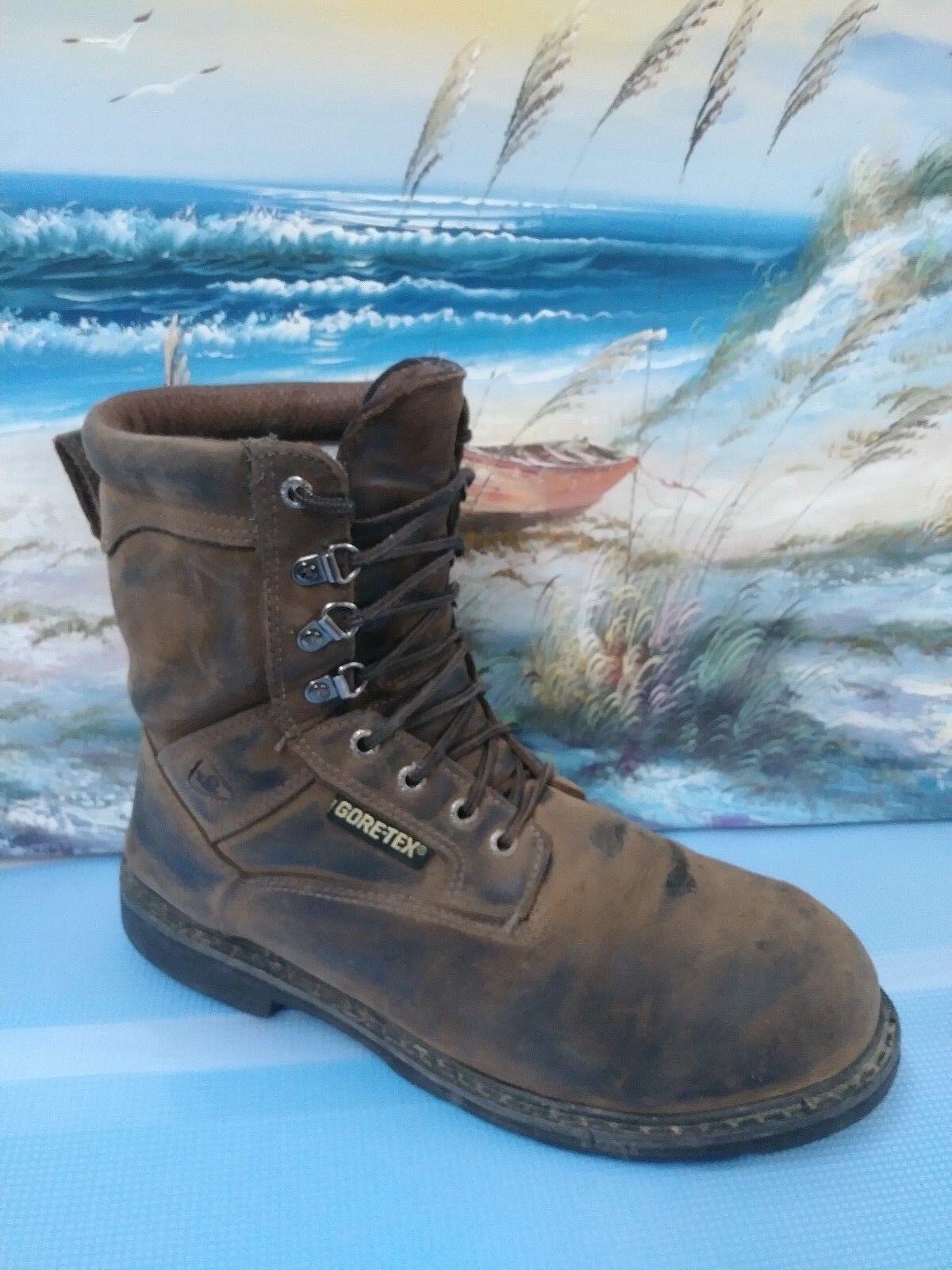 Men's Rocky Size 11 W, Waterproof, Insulated, Steel Toe Boot