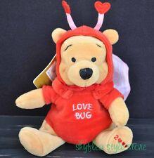 Winnie the Pooh FIREFLY Love Bug Mini Bean Bag Plush Disney Store 2000 NWT Red