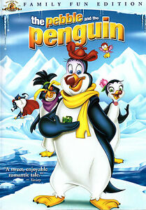 the pebble and the penguin 2 dvd set 2007 animated movie release kids family 27616067814 ebay. Black Bedroom Furniture Sets. Home Design Ideas