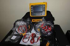 Fluke 1730 US Three Phase Portable Electrical AC Power Energy Logger Record Kit