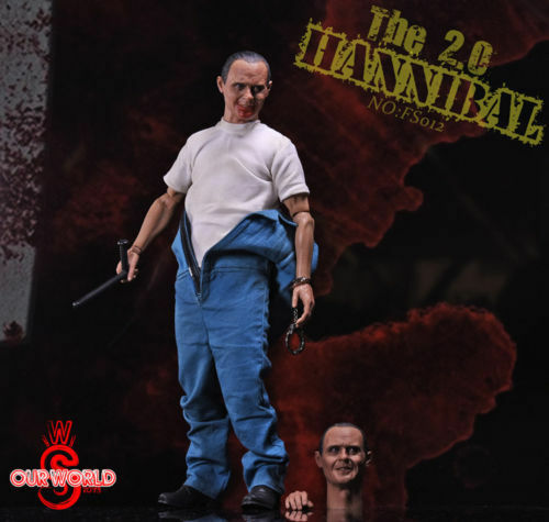 bajo precio SW ourworld 1 6 nofs 012 Hannibal el silencio de de de los corderos Figura modelo de dos cabezas  ¡envío gratis!