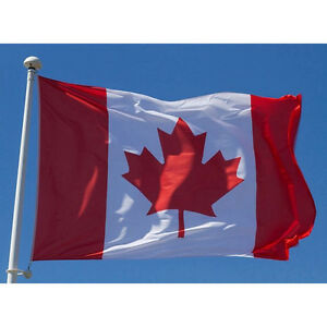 New-Large-3x5ft-Canadian-Flag-Polyester-Canada-Maple-Leaf-Banner-Outdoor-YL