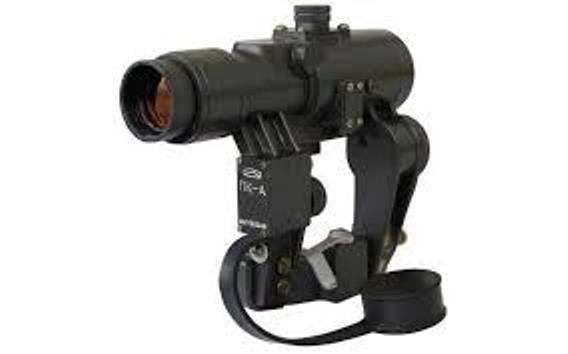 Belomo PK-un punto rojo Sniper rifle alcance ruso Colimador vista de montaje lateral