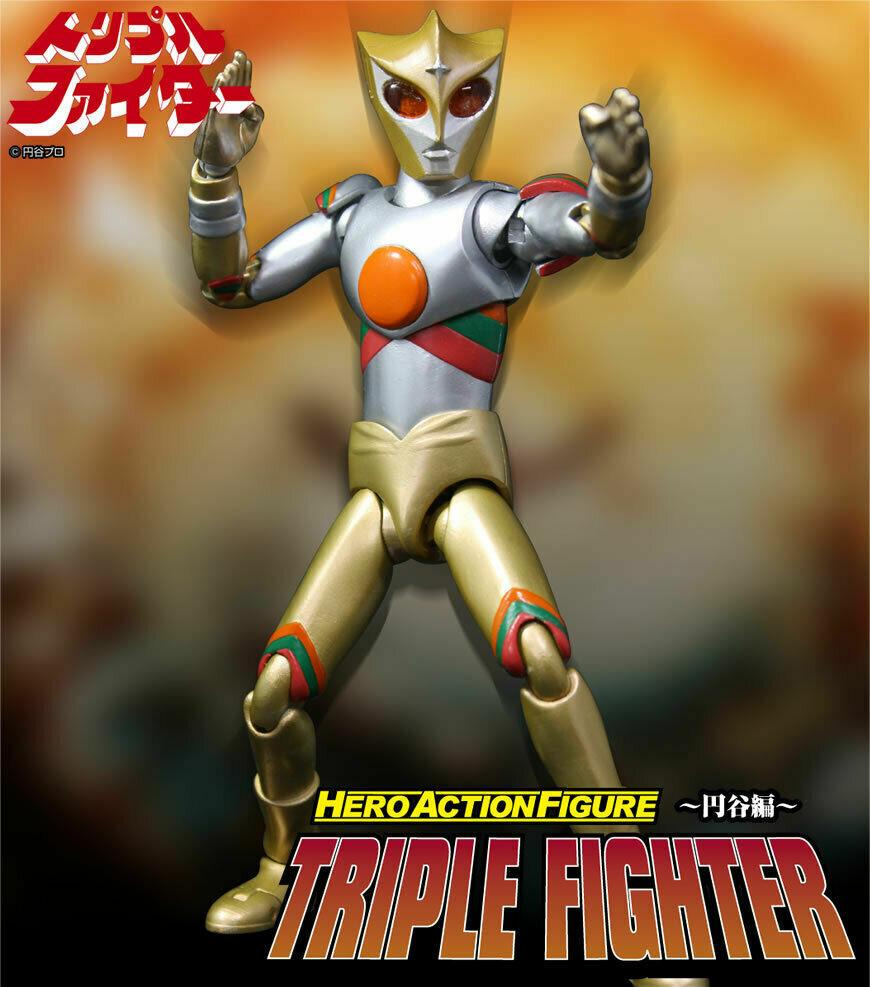 Evolution giocattolo HAF Hero azione cifra Series Triple combatiente   17cm  nuovi prodotti novità