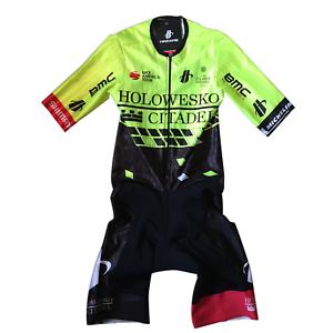 Nuevo 2018 para hombre Hincapie Racing Team Flecha ss traje para ciclismo, Hi-Vis, tamaño pequeño