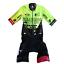 New-2018-Men-039-s-Hincapie-Racing-Team-Arrow-SS-Skinsuit-Hi-Vis-Size-Small thumbnail 1