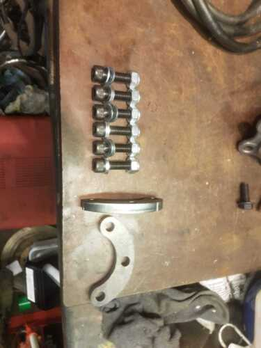 Isuzu Trooper top ball joint spacer steel 10mm Thick