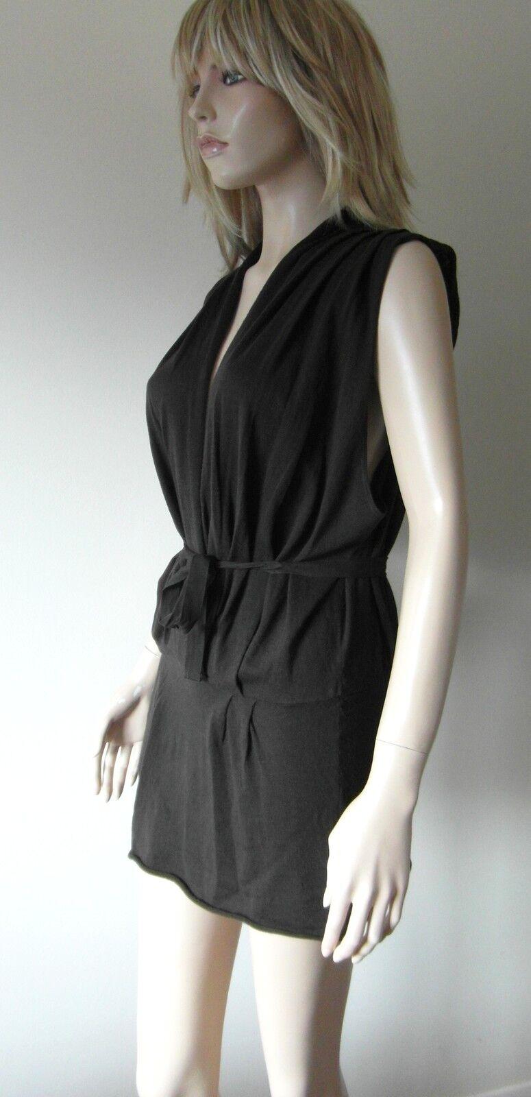 Stitches Drop Front Ladies Dress 100% Merino Wool Chocolate braun 34-40  Chest