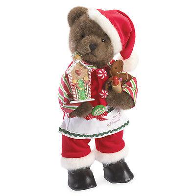 """Boyds Bears 14"""" LE Gingerbread Santa Plush ~ Santa Sweetnick ~ 4041811"""