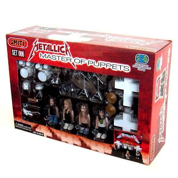 METALLICA MASTER OF PUPPETS 25 PC. TOY STAGE PLAYSET