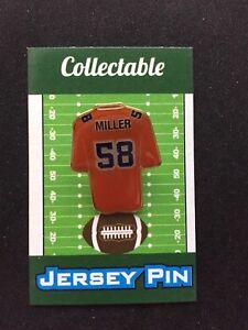 newest 9cb04 e7b37 Denver Broncos Von Miller jersey lapel pin-#1 Cool ...
