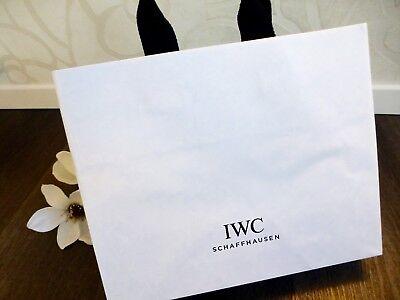 Logisch Iwc Schaffhausen ☆ Uhren Wrist Watch Tasche Tragetasche Papiertasche Katalog Bag Kunden Zuerst