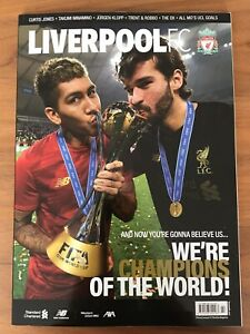 LIVERPOOL-FC-ROBERT-FIRMINO-WORLD-CUP-CUP-OFFICIAL-MAGAZINE-FEBRUARY-2020