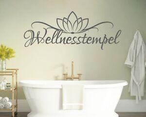 Details zu wandtattoo wellness tempel Wandtattoo Badezimmer Wandaufkleber  Bad pkm398