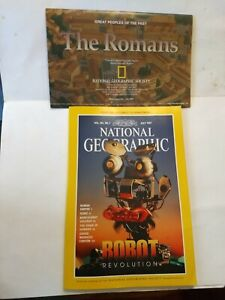 National-Geographic-Vol-192-1-July-1997-Robot-Revolution-Double-Map-The-Romans