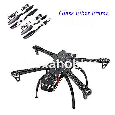 X500 500 Glass Fiber Frame Kit + Landing Gear 1045 propeller for TBS Quadcopter