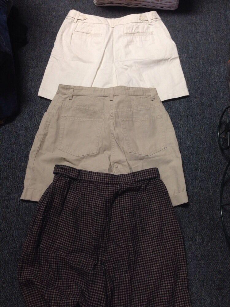 3 Pair Shorts Size 10 Christopher & Banks St John… - image 1