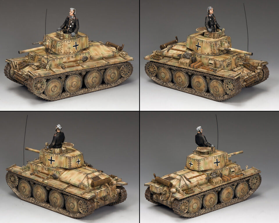 "KING AND COUNTRY WW2 ""Pz.Kpfw38(t)  Tank WSS225 WS225"