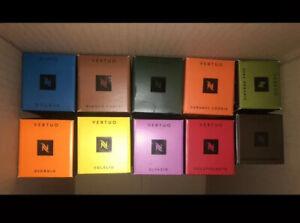 100x Nespresso Vertuo Capsules Assortment - BNIB | DESC | FREE P&P ☕️ Set 1