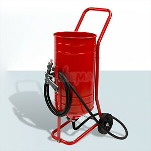 Sandstrahlgeraet-Sandstrahler-Sandstrahlkabine-sandstrahlen-mobil-30-Liter
