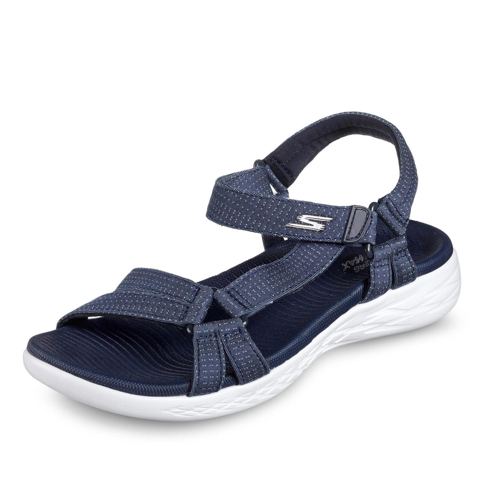 Skechers On The Go 600 Brillancy Sandale dunkelblau