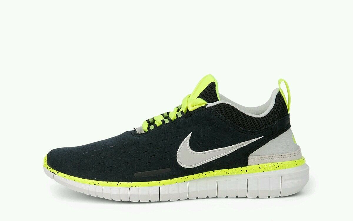 Nike Free OG '14 Noir Lime Gris Suede Wo Hommes Trainer Chaussures Bottes