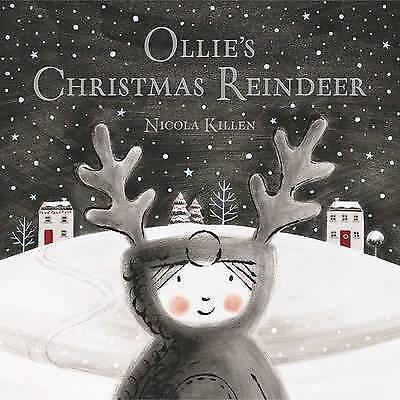 1 of 1 - Ollie's Christmas Reindeer-ExLibrary