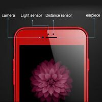 Red 3D Curved Full Cover Tempered Glass Screen Protector For iPhone 6s Plus