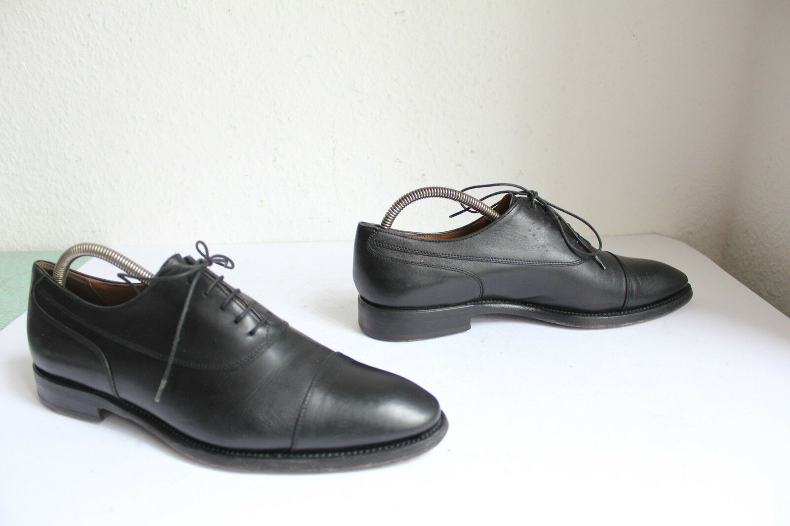 Lendway&Schwarcz Schuhes hand made Luxus Brogue Schuhes Lendway&Schwarcz Voll Echtleder Schwarz Eu:41 64f6b7