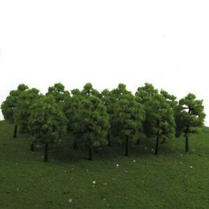20PCS-HO-OO-Scale-1-100-Model-Trees-Train-Railroad-Diorama-Wargame-Park-Scenery