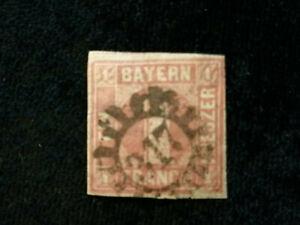 Altdeutschland-Bayern-ab-1849-MiNr-3-1-Kr-PF-XXIX-2