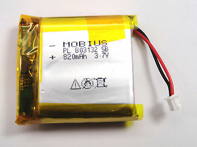 Mobius Actioncam 3.7V 820Mah Upgraded Replacement Battery